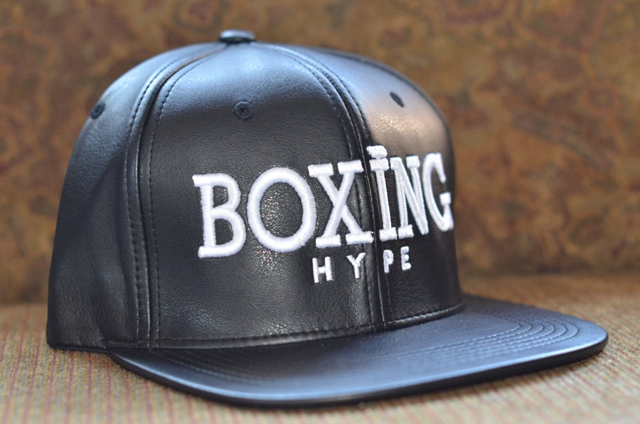 Image of Leather Snapbacks