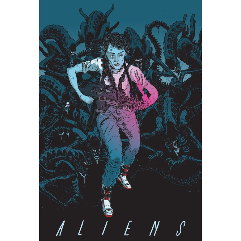 Image of ALIENS 30th Anniversary Print