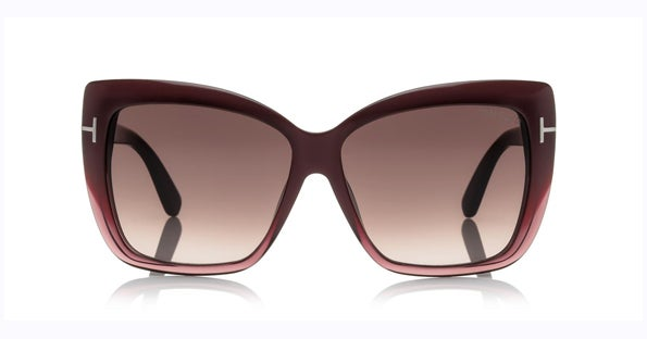 Image of TOM FORD TF390 Irina Bordeaux