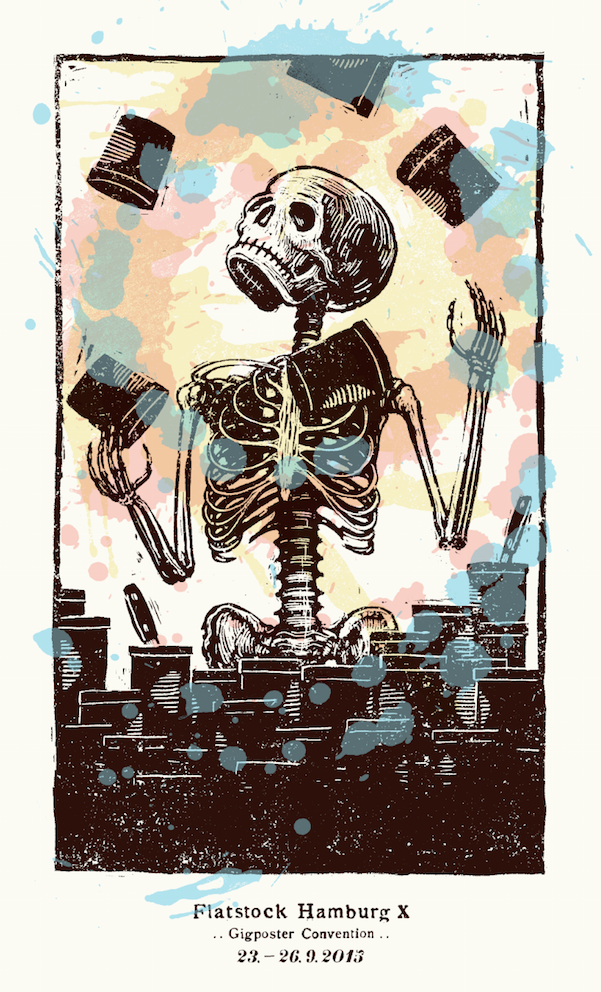 Image of »Flatstock-Hamburg 2015« Poster