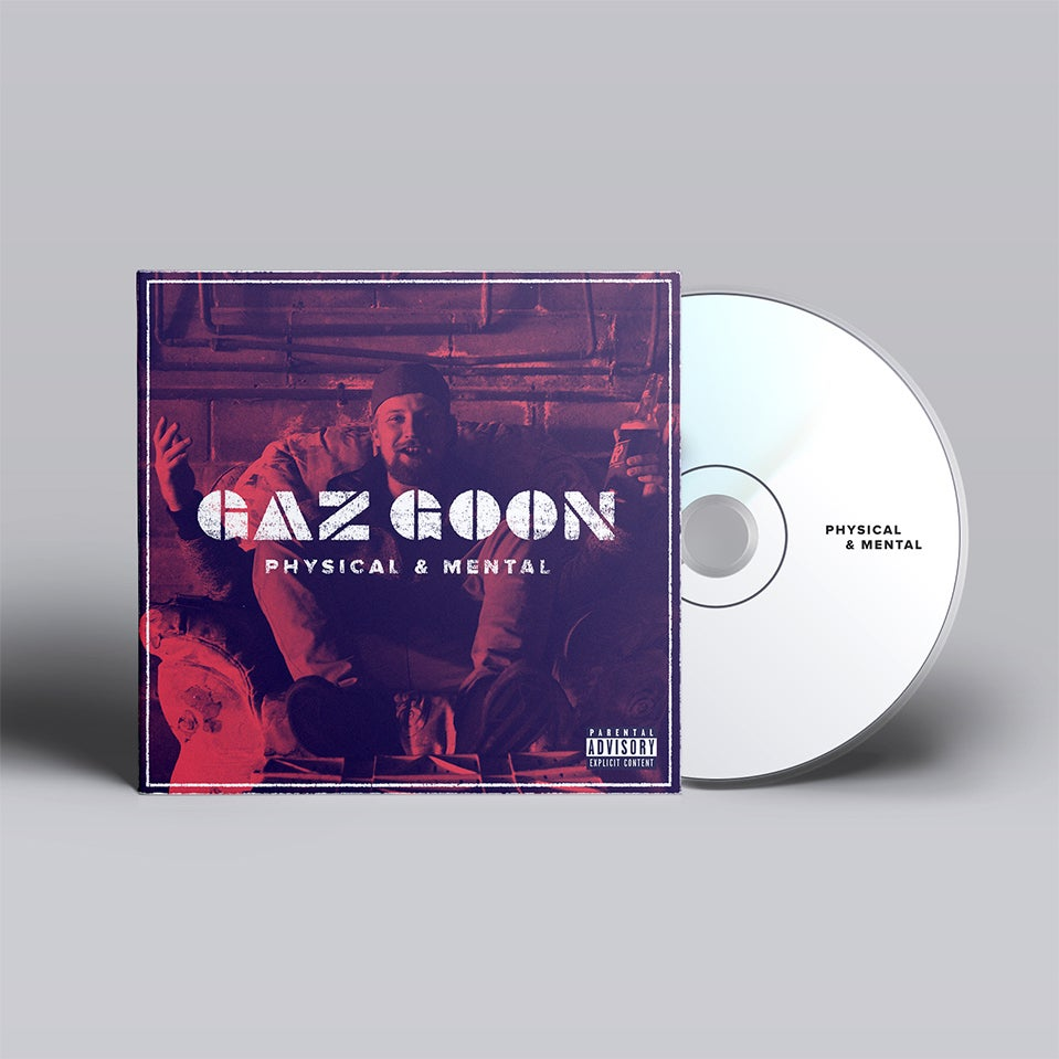 Image of Gaz Goon - 'Physical & Mental' CD