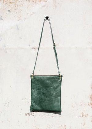 Image of Leather Shoulder Bag (A4)