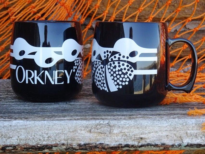 Image of Orkney Mug - Black