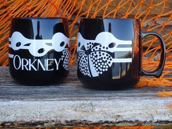 Image of Orkney Mug - Black