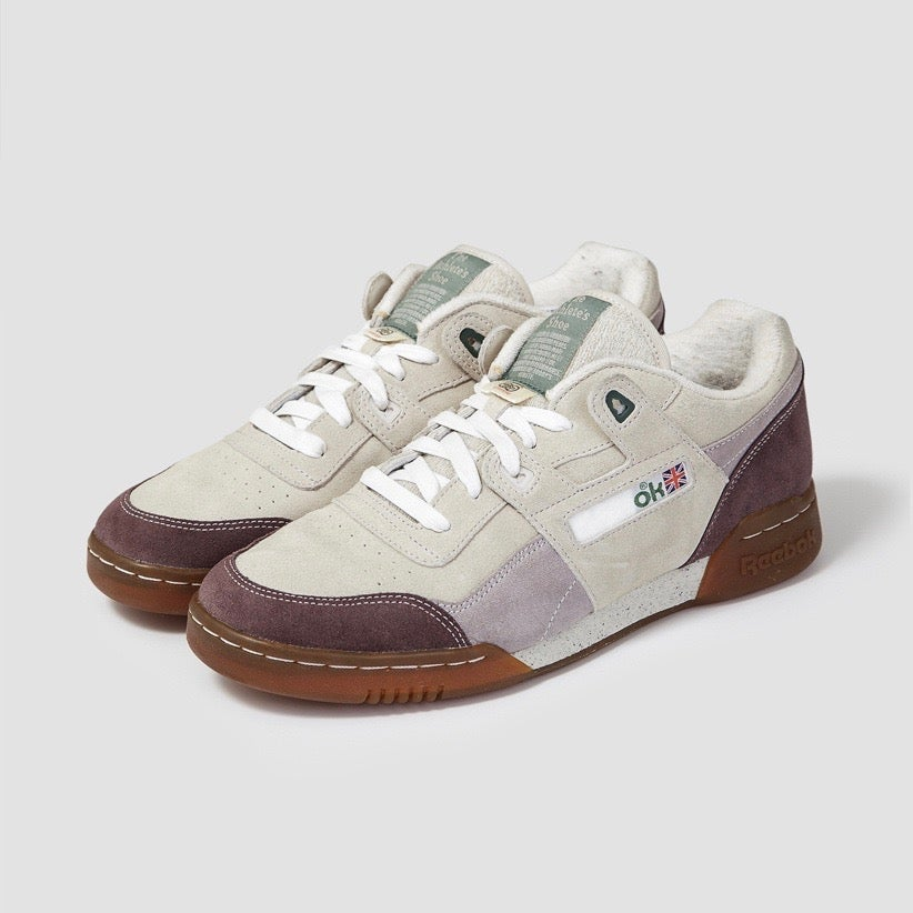 Image of Reebok X Garbstore Workout Lo Plus Stucco