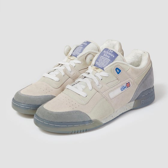 Image of Reebok X Garbstore Workout Lo Plus Off White