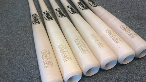 Image of X71 - 6 Bat Pack - All Natural Pro Maple w/ Ink Dot