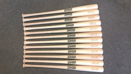 Image of X19 - 12 Bat Pack - All Natural Pro Maple w/ Ink Dot