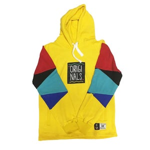"Image of Originals x Mr Throwback Hoodies ""Yellow"""