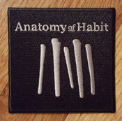 Image of Anatomy of Habit - Embroidered Patch (Logo)