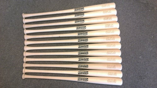 Image of X71 - 12 Bat Pack - All Natural Pro Maple w/ Ink Dot