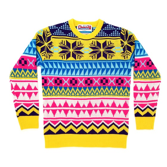 Image of Rainbow Wonderland Christmas Jumper - Unisex