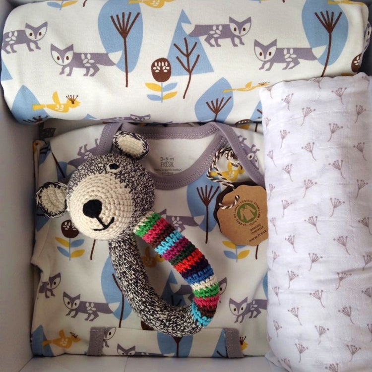 Organic Baby Gift Box Set London Mummy Stylish Luxury