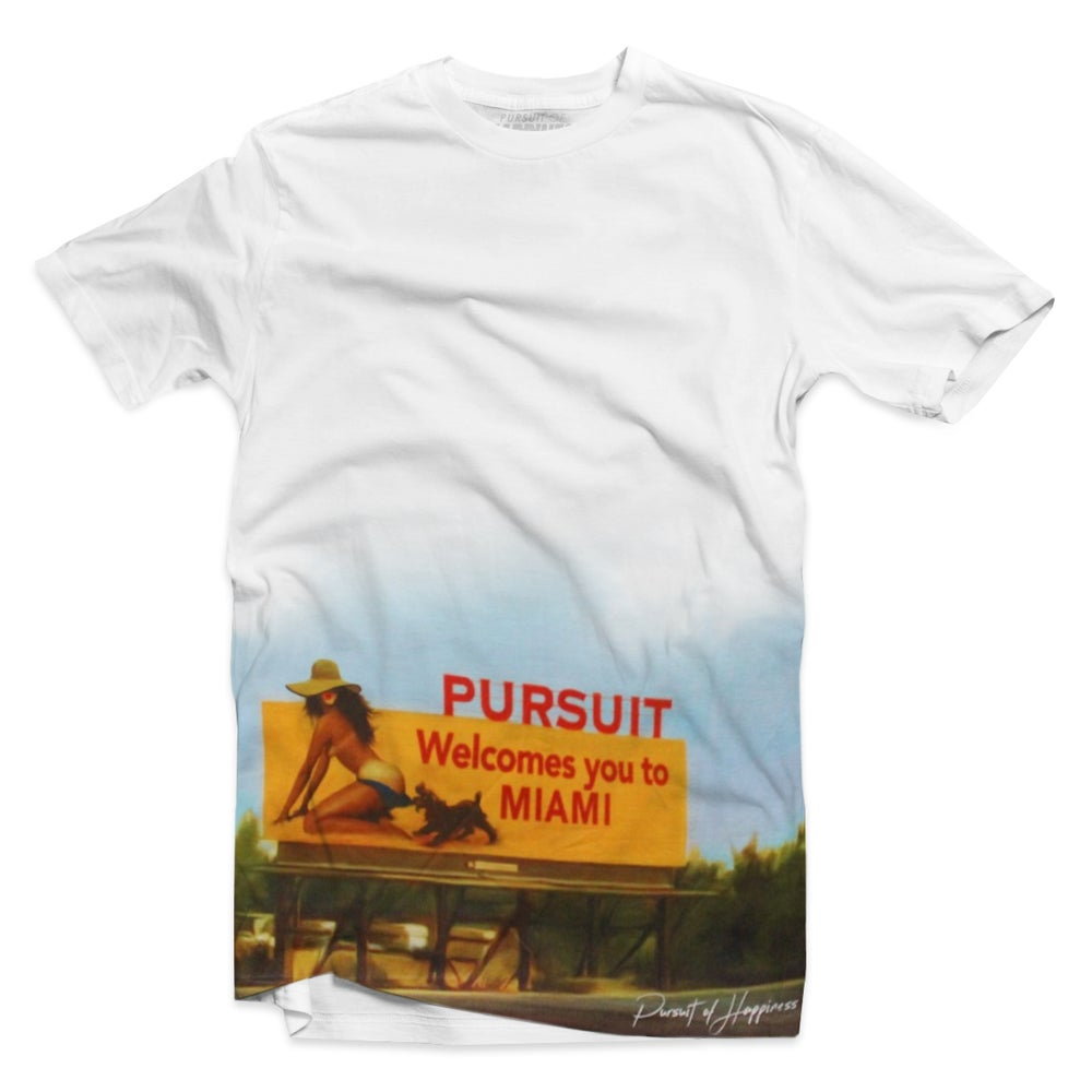 "Image of ""Welcome To Miami"" tee"