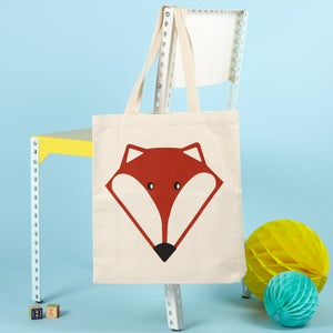 Image of Mr Fox Deluxe Tote Bag