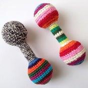 Image of Classic Crochet Baby Rattle