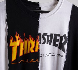 Image of 1 of 2 Thrasher Cut & Sew Tee