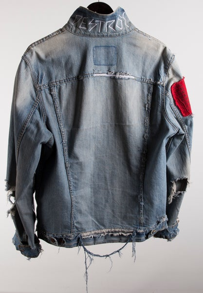 Image of Light Wash Denim Jacket 1of1