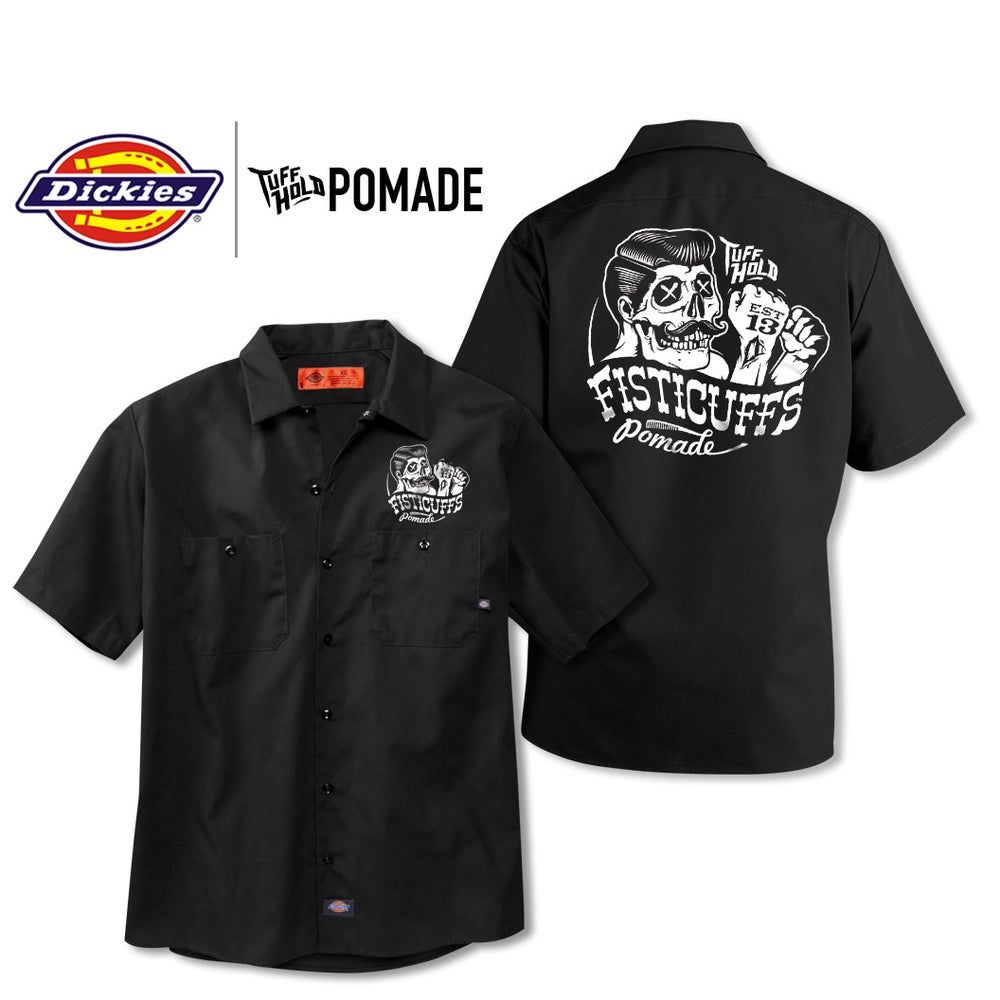 Image of Fisticuffs Pomade Dickies Work Shirt