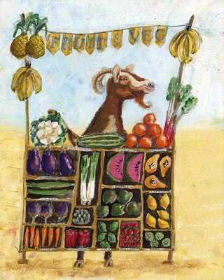 Image of Fruit and Veg Painting