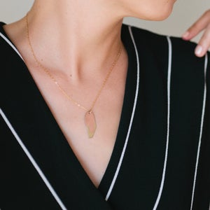 Image of Layered Metals Necklace - Small