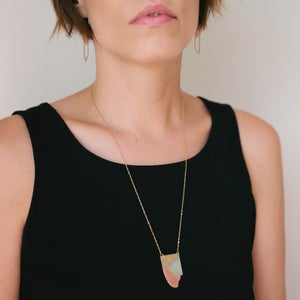 Image of Layered Metals Necklace - Large
