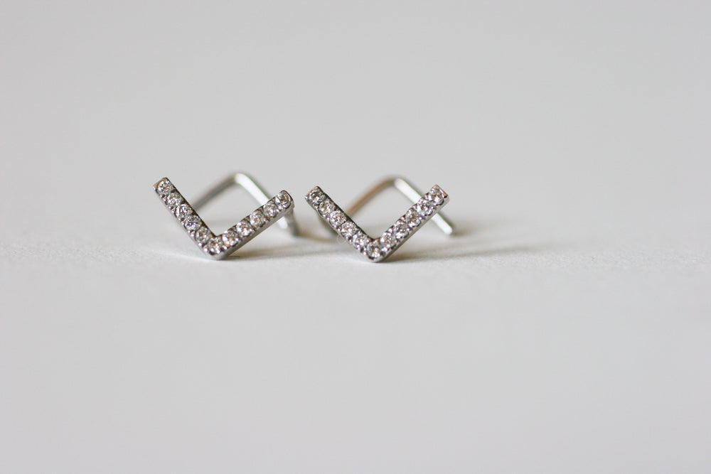 Image of Staple Earrings