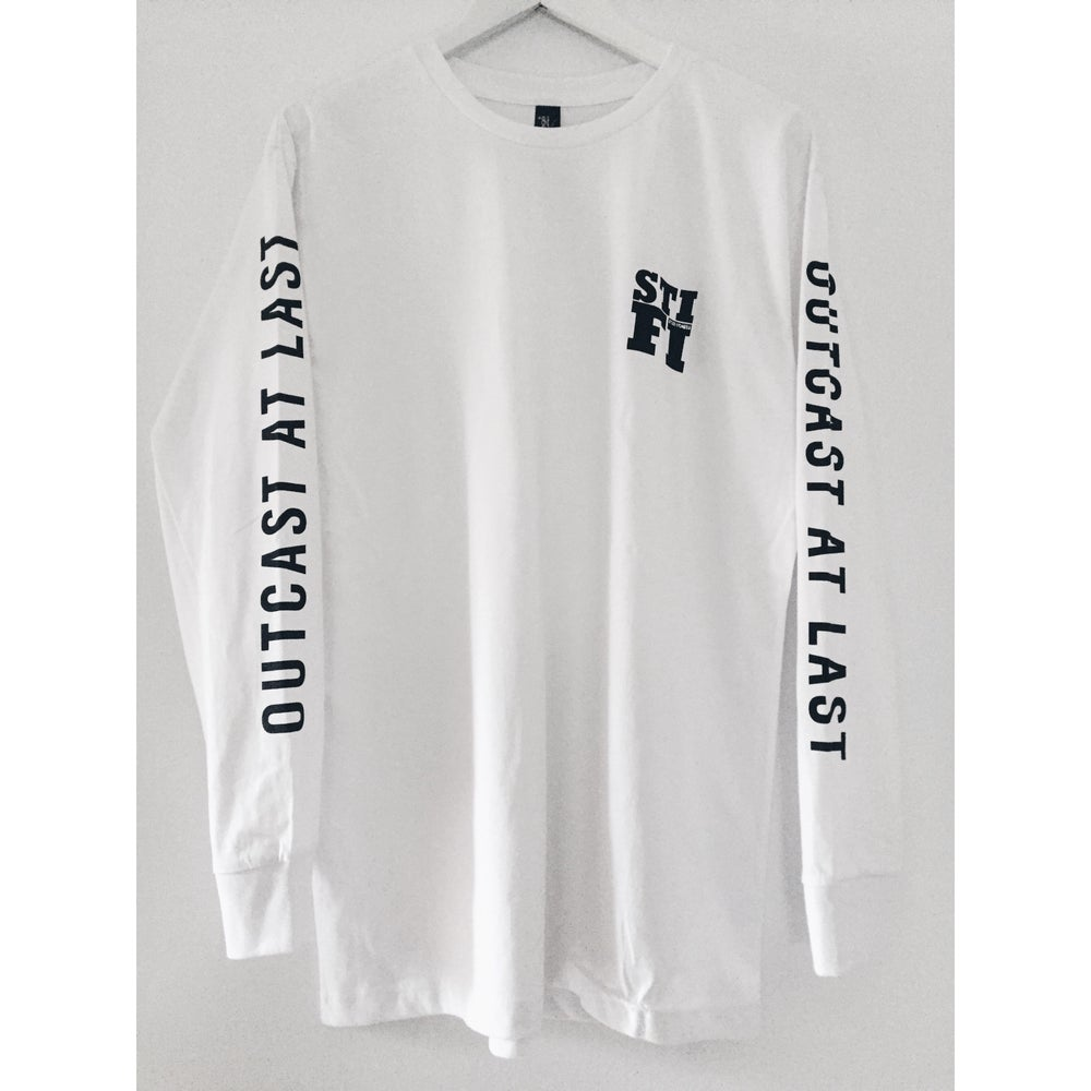 Image of STI FI Outcast At Last - Long Sleeve - White