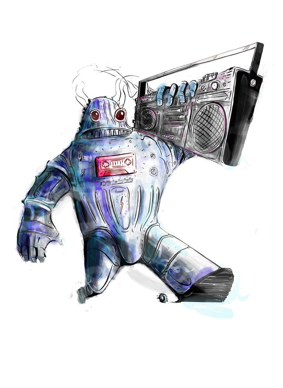 Image of Ghetto-Bot 2016 Print