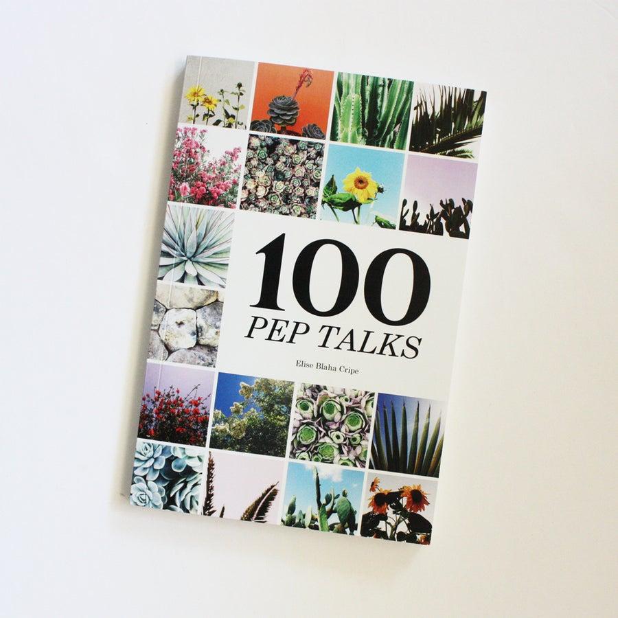 Image of 100 PEP TALKS book