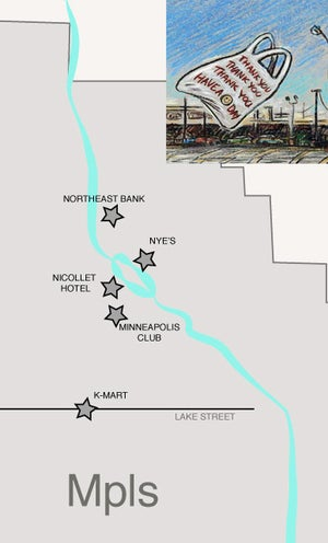 Image of Noteworthy Parking Lots of Minneapolis
