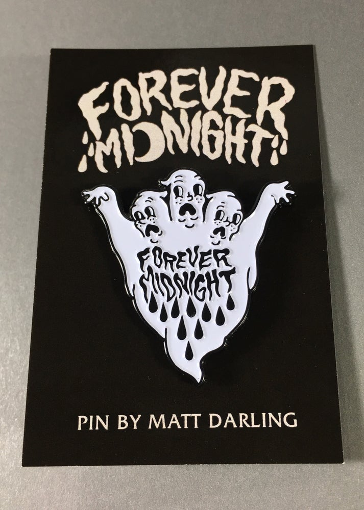 "Image of ""Forever Midnight"" pin"