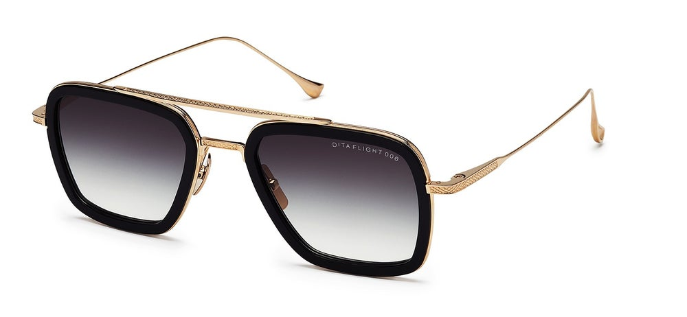 Image of DITA Flight006 Black 14KGold- NOW 50% OFF!