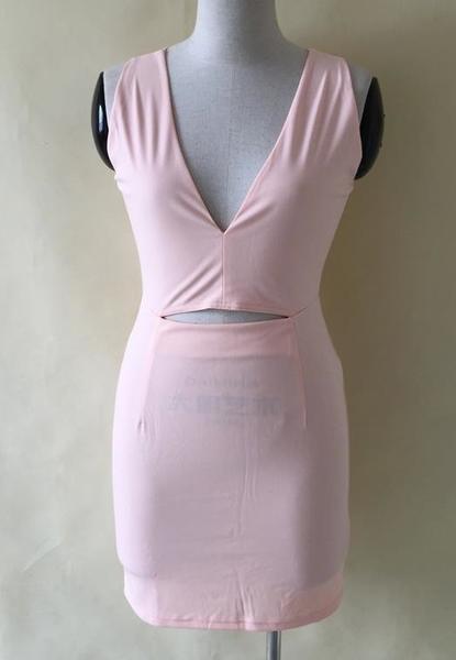 Image of CUTE DEEP V HOT DRESS