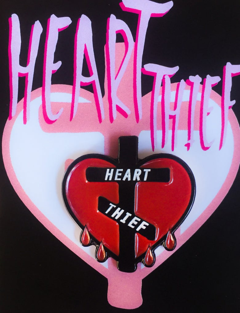 Image of Heart Thief Pin