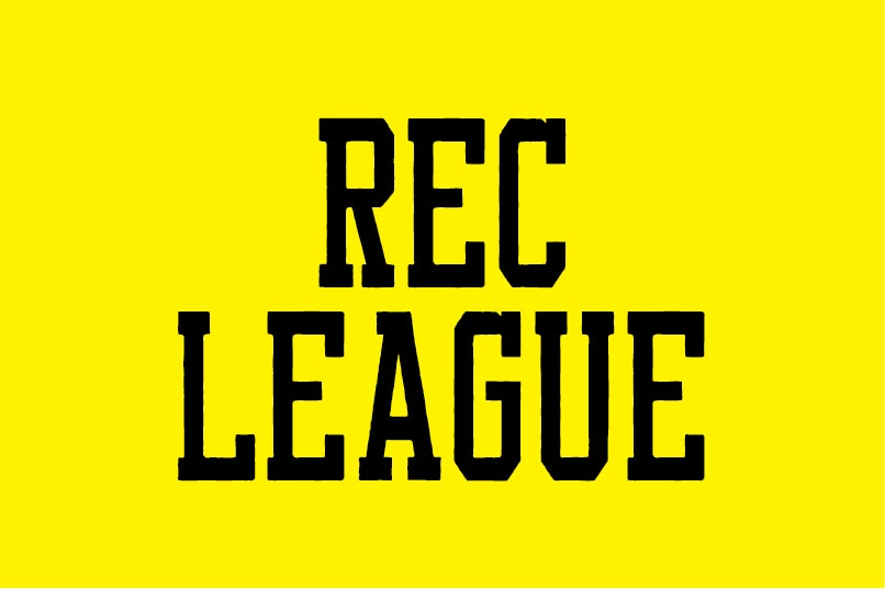 Image of Rec League font