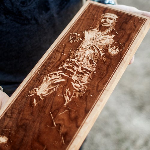 Image of Han Solo Carbonite
