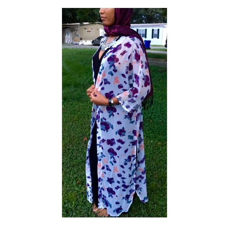 Image of Floral Kimono