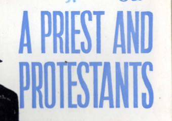 Image of Priest Condensed font