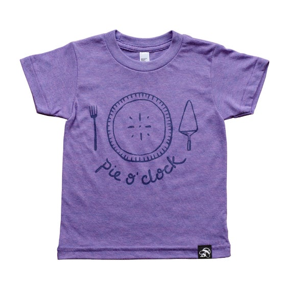 Image of PIE O' CLOCK kids' tee