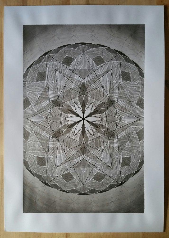 Image of 'Blueprints for Time Travel - No.2' original illustration