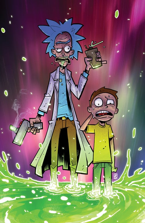 Image of Rick & Morty Forever A Hundred Years
