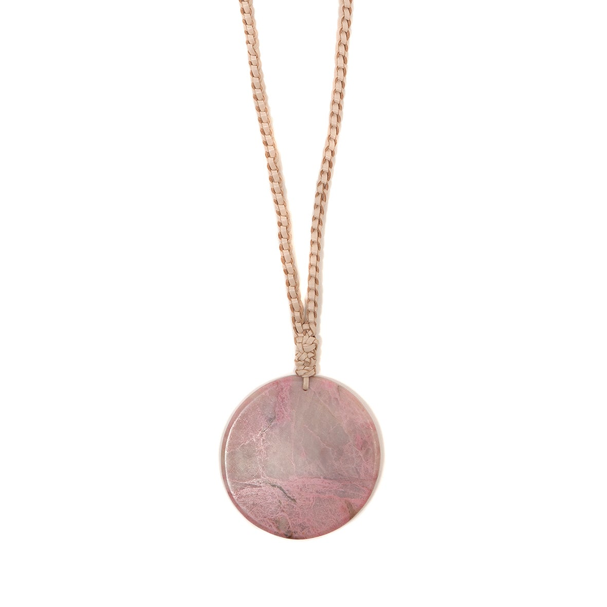 """Image of """"Moon Magic"""" Rhodonite Necklace"""