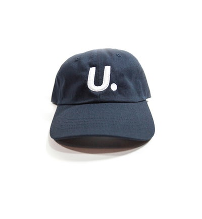 Image of U. League Navy 6 Panel Cap