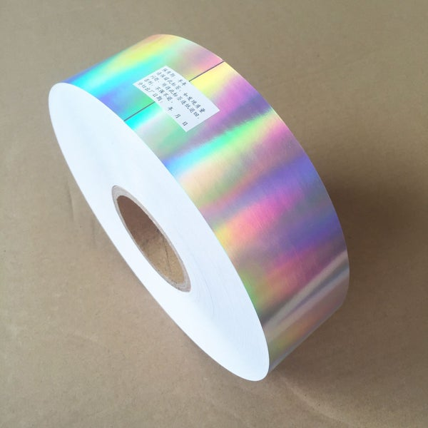 Image of Plain Hologram Eggshell Paper Roll