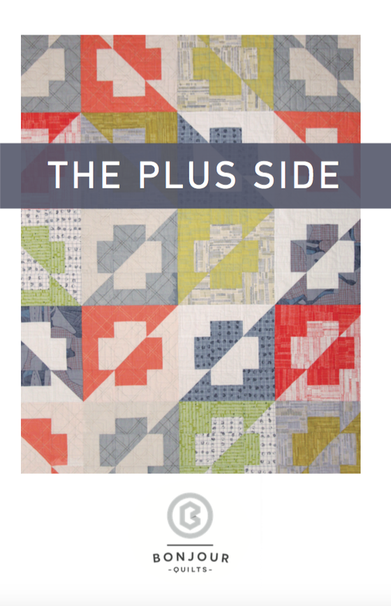 Image of Quilt Pattern PDF - The Plus Side