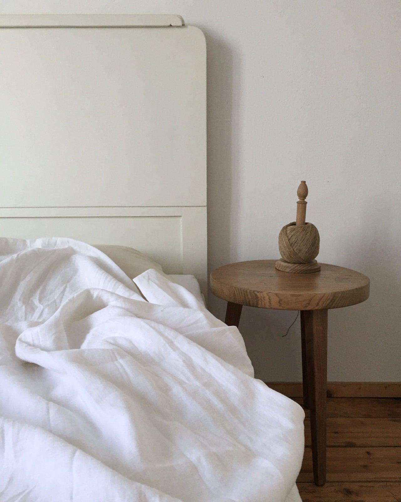 image of linen duvet cover set
