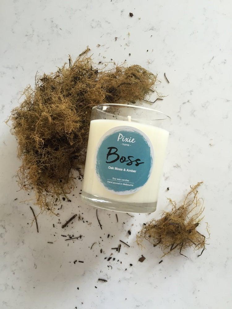 Image of Boss- Oak moss & Amber