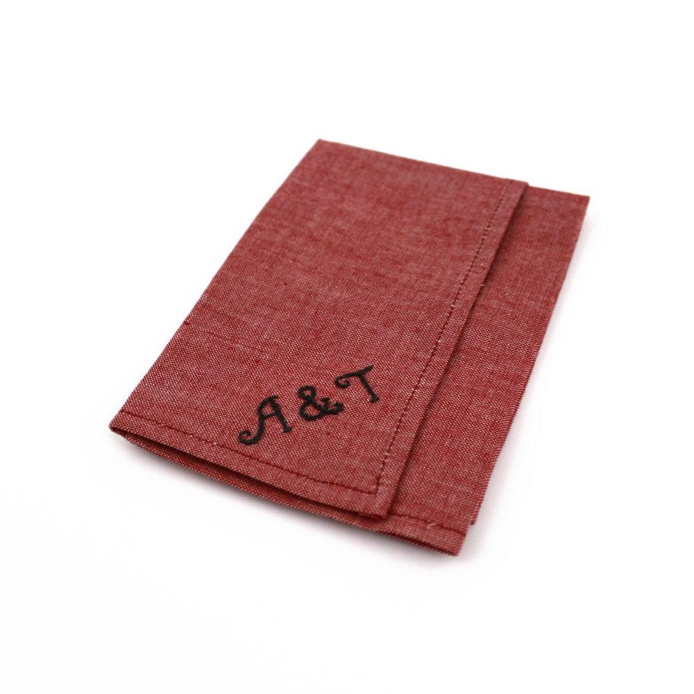 Image of Teal Linen Pocket Square