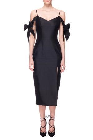 Caithness Dress (Black) - Melissa Bui